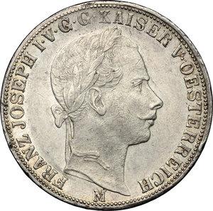obverse: Milano.  Francesco Giuseppe I (1848-1866). Tallero 1859
