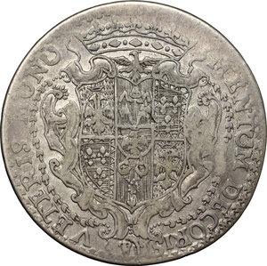 reverse: Modena.  Francesco III d Este (1737-1780).. Scudo 1739
