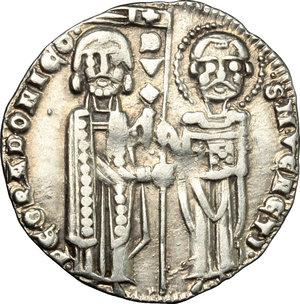 obverse: Venezia.  Pietro Gradenigo (1289-1311).. Grosso