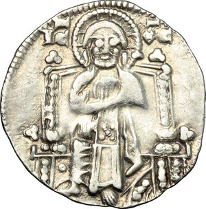 reverse: Venezia.  Pietro Gradenigo (1289-1311).. Grosso