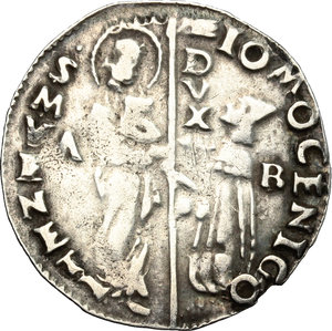 obverse: Venezia.  Giovanni Mocenigo (1478-1485). Marcello, sigla A B
