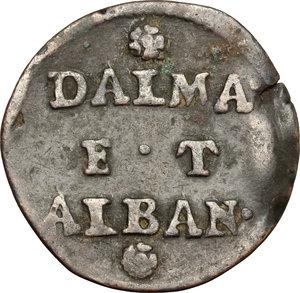 reverse: Venezia.  Monetazione per Dalmazia e Albania.. Gazzetta. Decreti 17 giugno 1684 e 10 febbraio 1691