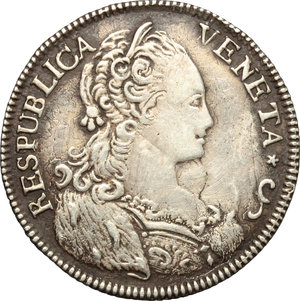 obverse: Venezia.  Paolo Renier (1779-1789).. Ottavo di tallero per il Levante 1781