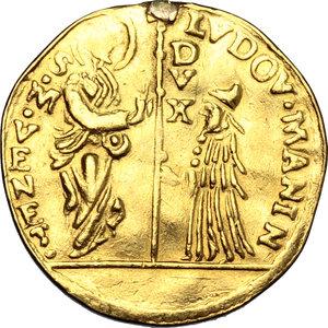 obverse: Venezia.  Ludovico Manin (1789-1797).. Zecchino