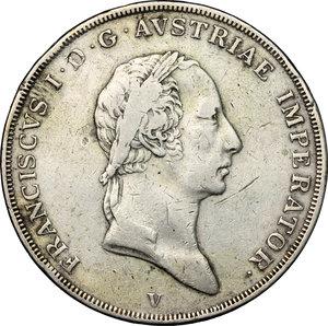 obverse: Venezia.  Francesco I d Asburgo e Lorena (1815-1835). Scudo 1824