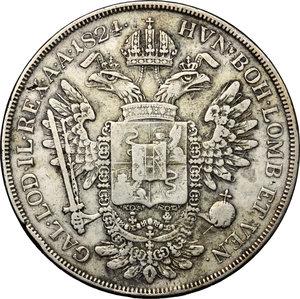 reverse: Venezia.  Francesco I d Asburgo e Lorena (1815-1835). Scudo 1824