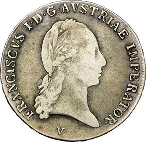 obverse: Venezia.  Francesco I d Asburgo e Lorena (1815-1835). Mezzo tallero 1818
