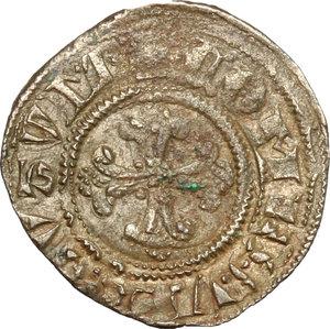 obverse: Verona.  Gian Galeazzo Visconti (1387-1402). Denaro