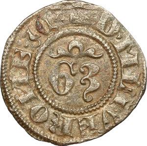 reverse: Verona.  Gian Galeazzo Visconti (1387-1402). Denaro