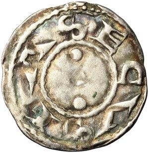 reverse: Amedeo III (1103-1148). Denaro secusino, Susa
