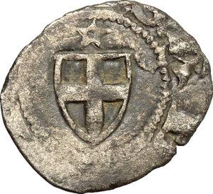 obverse: Amedeo VI (1343-1383), il Conte Verde.. Denaro viennese I tipo