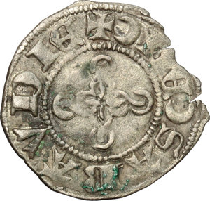 obverse: Amedeo VIII, Conte (1391-1416). Forte, I tipo. Bourg/ Chambery/ Nyon