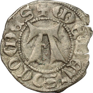 reverse: Amedeo VIII, Conte (1391-1416). Forte, I tipo. Bourg/ Chambery/ Nyon