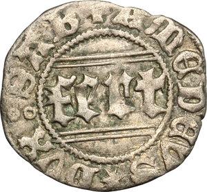 reverse: Amedeo VIII (1416-1440).. Quarto di grosso, II tipo. Chambery