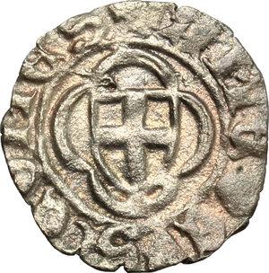 obverse: Amedeo VIII (1416-1440).. Obolo di bianchetto. Nyon
