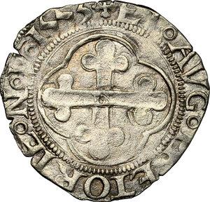 reverse: Carlo II (1504-1553).. Grosso 1553, Aosta