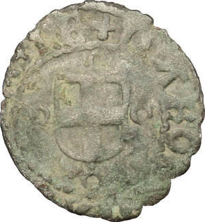 obverse: Carlo II (1504-1553).. Forte di Savoia, IV tipo, Montluel(?)