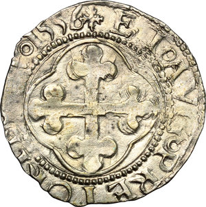 reverse: Emanuele Filiberto Duca (1559-1580).. Grosso 1556, I tipo