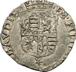 obverse: Emanuele Filiberto Duca (1559-1580).. Soldo 1565, Chambery