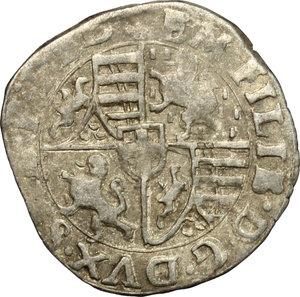 obverse: Emanuele Filiberto Duca (1559-1580).. Soldo 1576, III tipo. Torino