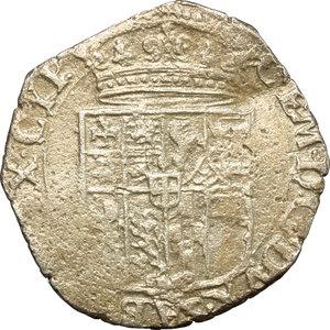 obverse: Carlo Emanuele II sotto la reggenza della madre (1638-1648). 4 soldi 1639, Torino