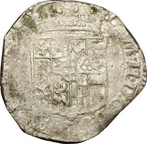 obverse: Carlo Emanuele II (1638-1675). 4 soldi 1640. Torino