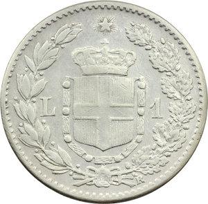 reverse: Umberto I (1878-1900). Lira 1899 (99 ravvicinati)