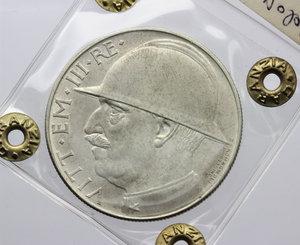 obverse: Vittorio Emanuele III (1900-1943). 20 lire 1928 A.VI (Elmetto)