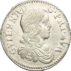 obverse: France. 1/12 d Ecu de 5 Sols (Luigino) 1665, Principality of Orange