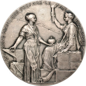 obverse: France. Medal commemorating the opening of the Suez Canal on 17 November 1869