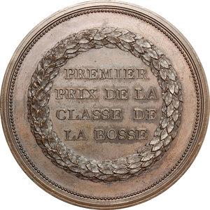 reverse: France.  Academie de peinture et sculpture de valenciennes. Medal. Premier prix de la classe de la Bosse