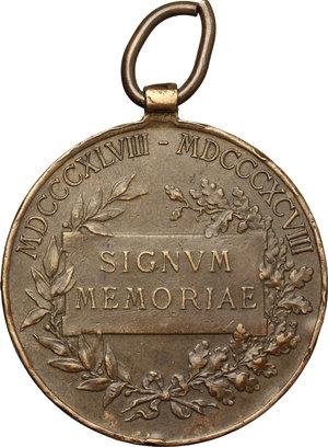 reverse: Austria.  Franz Joseph I (1830-1916). Medal 1898, commemorating 50 years of his reign