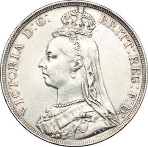 obverse: Great Britain.  Victoria (1837-1901). Crown 1890