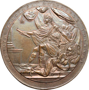 obverse: Mexico.  Fernando VII (1808-1833), King of Spain. . Proclamation Medal 1814, commemorating the Ecclesiastical Council at Mexico City