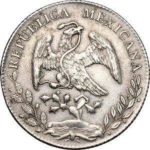 obverse: Mexico.  Republic. 8 reales 1891,  Potosi