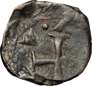 Reverse image of coin 157