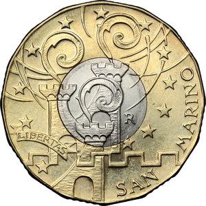 obverse: San Marino. 5 euro 2016 per il Giubileo della Misericordia