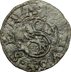 obverse: Siena.  Repubblica (1404-1555). Quattrino