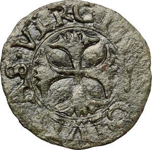 reverse: Siena.  Repubblica (1404-1555). Quattrino