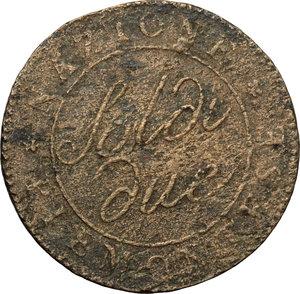 obverse: Torino.  Repubblica Subalpina (1800-1802). 2 soldi 1801