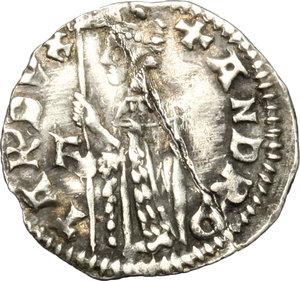 obverse: Venezia.  Andrea Contarini (1368-1382). Soldino