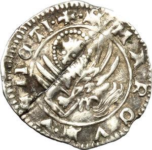 reverse: Venezia.  Andrea Contarini (1368-1382). Soldino