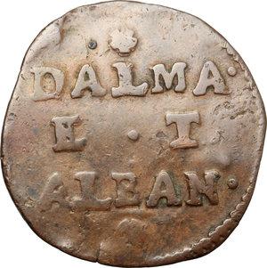 obverse: Venezia.  Monetazione per la Dalmazia e l Albania . Gazzetta
