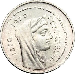 obverse: 1000 lire  ROMA CAPITALE  1970