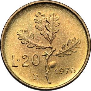 reverse: 20 lire 1976