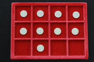 obverse: Lotto di 9 monete da 5 lire, 1977
