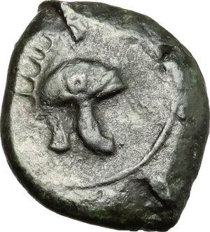 Tauromenion.  Campanian Mercenaries (c. 354-344 BC).. AE