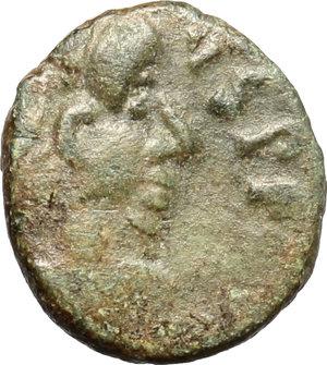 Eugenius (392-394).. AE 12mm, Arelate or Lugdunum mint, 392-394