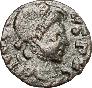 Barbaric imitation of a late Roman AE 13mm, 4th-5th century