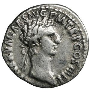 obverse: Nerva. Jan - Sept, 97 AD. Denarius. 3.45 gr. - 17.3 mm. O:\ IMP NERVA CAES AVG PM TR P COS III P P, laureate head right. R:\ FORTVNA AVGVST - Fortuna standing left, holding rudder and cornucopia. RIC 16, RSC 66. XF
